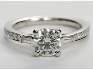 Two New Art Deco Inspired Settings from Blue Nile | Engagement Ring Voyeur