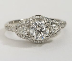 A Unique Designer Engagement Ring under $8,000 | Engagement Ring Voyeur