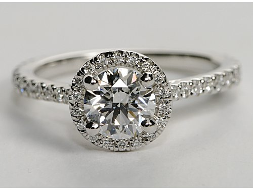 Halo Style Engagement Ring Settings Engagement Ring Voyeur