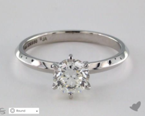 A Custom Engagement Ring Under $2000 | Engagement Ring Voyeur