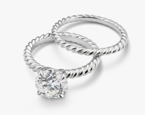 David Yurman Cabled Engagement Ring Imposters | Engagement Ring Voyeur