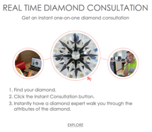 James Allen's Real Time Diamond Consultation