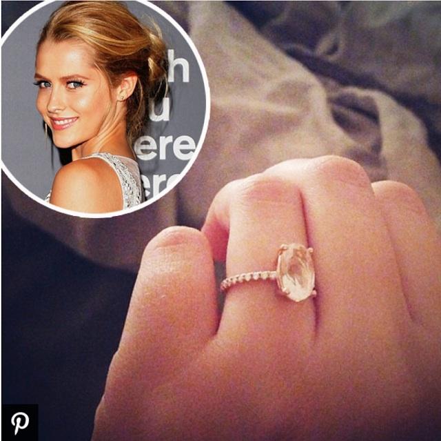 Theresa Palmer Engagement Ring