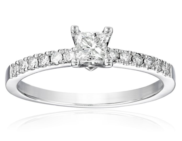 kobelli princess engagement ring