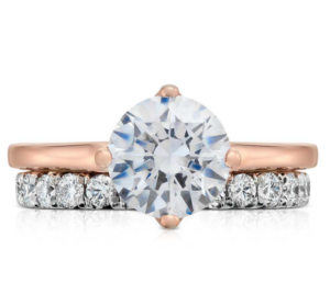 East-West Setting for a Round Diamond | Engagement Ring Voyeur