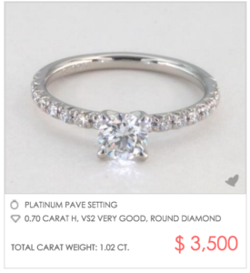 Snowed In? Time to Shop for Ice! | Engagement Ring Voyeur