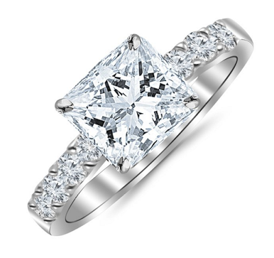 Top Rated Houston Diamond District Engagement Ring