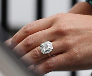 Pippa Middleton's Vintage Asscher Engagement Ring