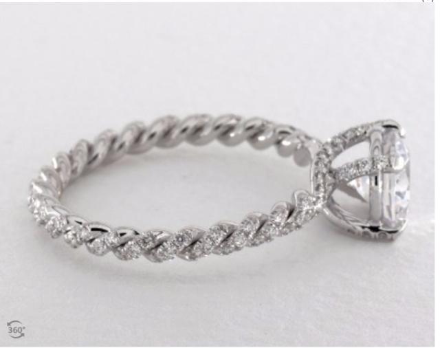 Danhov Eleganza Engagement Ring Setting