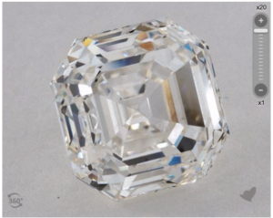 A 3.54 Carat Asscher Diamond, Plus a Bonus!