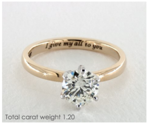 Meaningful Ring Engravings | Engagement Ring Voyeur