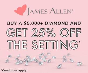 Secret Sale at James Allen