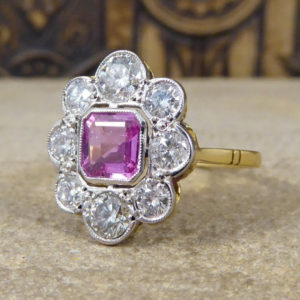 Vintage Floral Engagement Rings