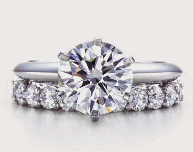 Tiffany Six Prong Solitaire
