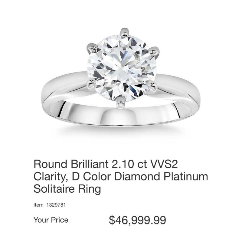 Costco Engagement Rings, Don't Do It