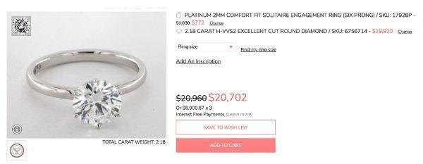Costco vs Tiffany and Co